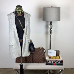 Rag & Bone Frankie Wool Blend Grey Vest
